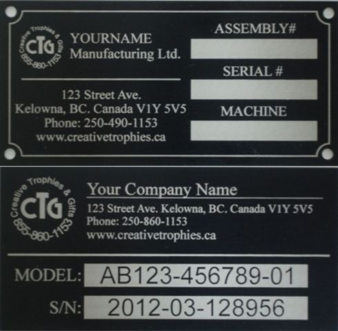 machine i d tags