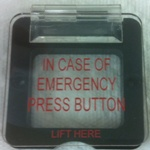 Acrylic Emergency Button Cover