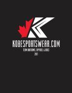 Kobe Sportswear 2017 Hockey Baseball Lacrosse Basketball